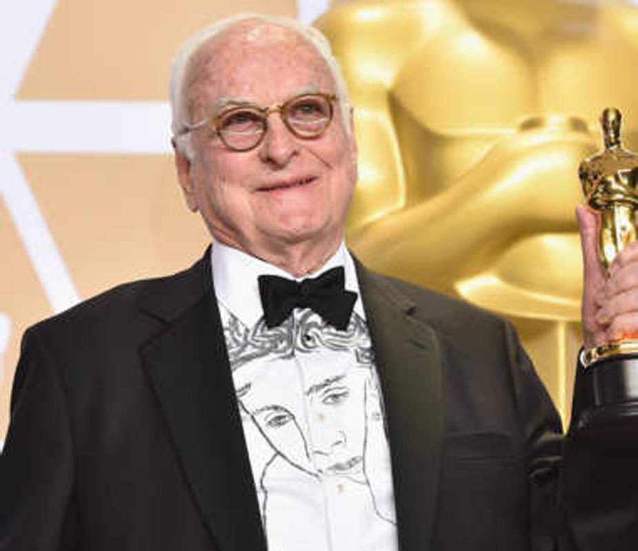 James Ivory, screenwriter of Call Me by Your Name, took home the Oscar for Best Adapted Screenplay