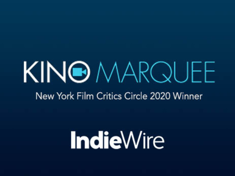 Kino Marquee wins award from New York Film Critics Circle for virtual cinema