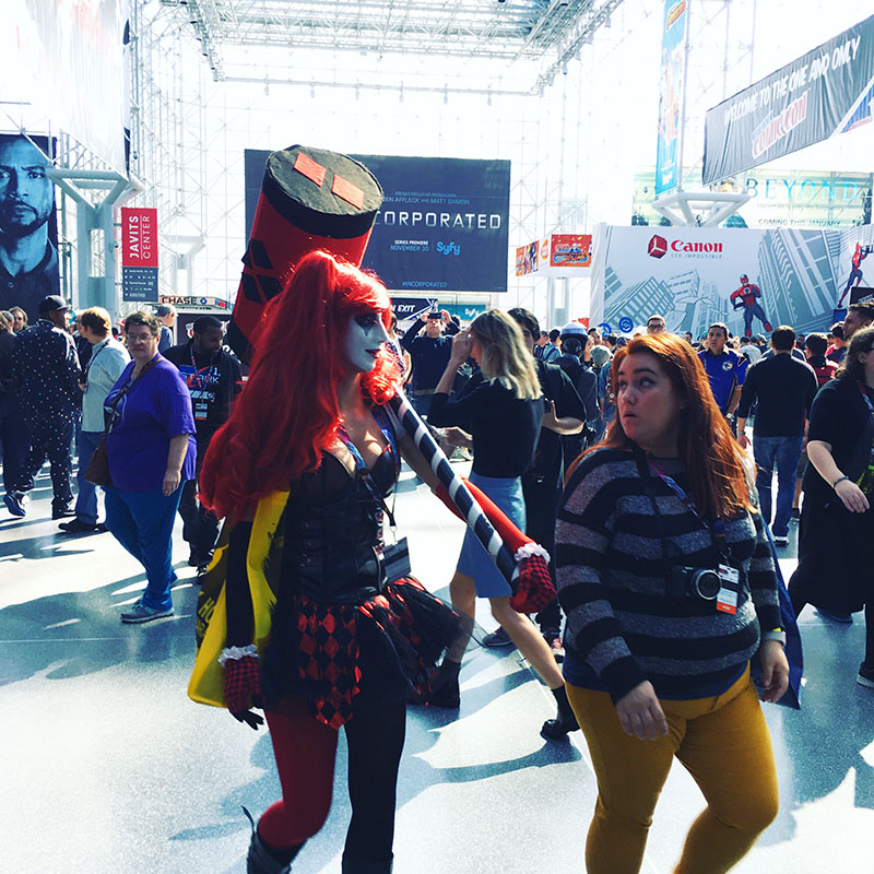 Cosplay at New York Comicon