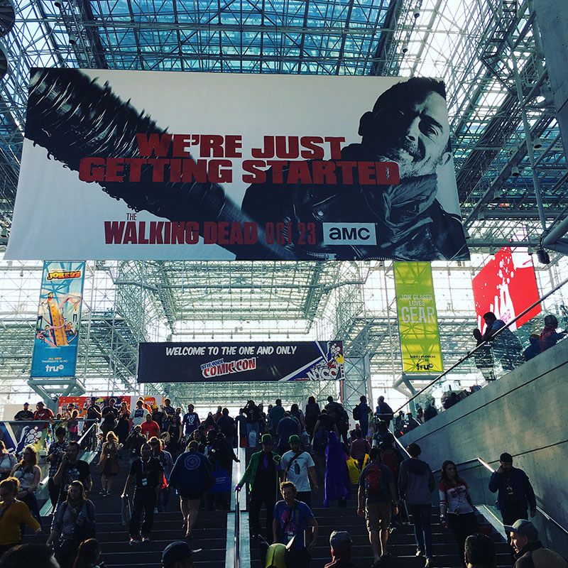 New York Comicon 2016 at Javitz