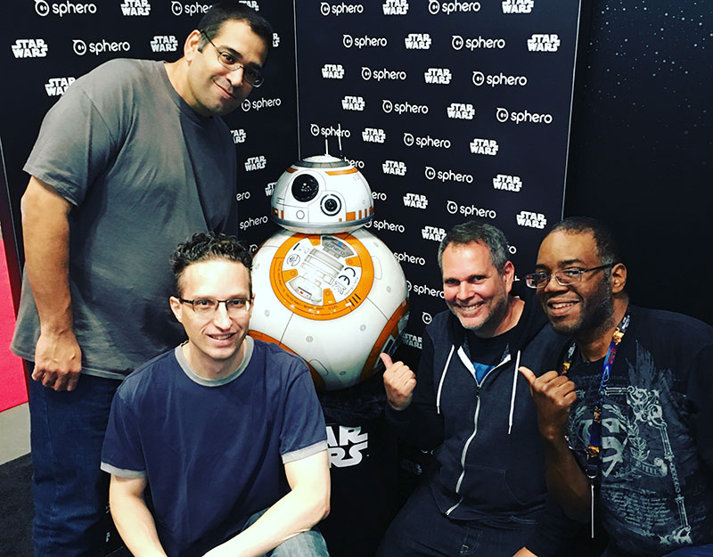 BB-8 and Cyber-NY