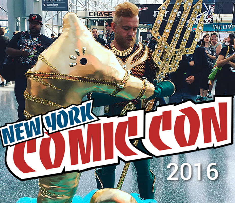 Cyber-NY attends New York Comicon 2016 at the Javitz Center