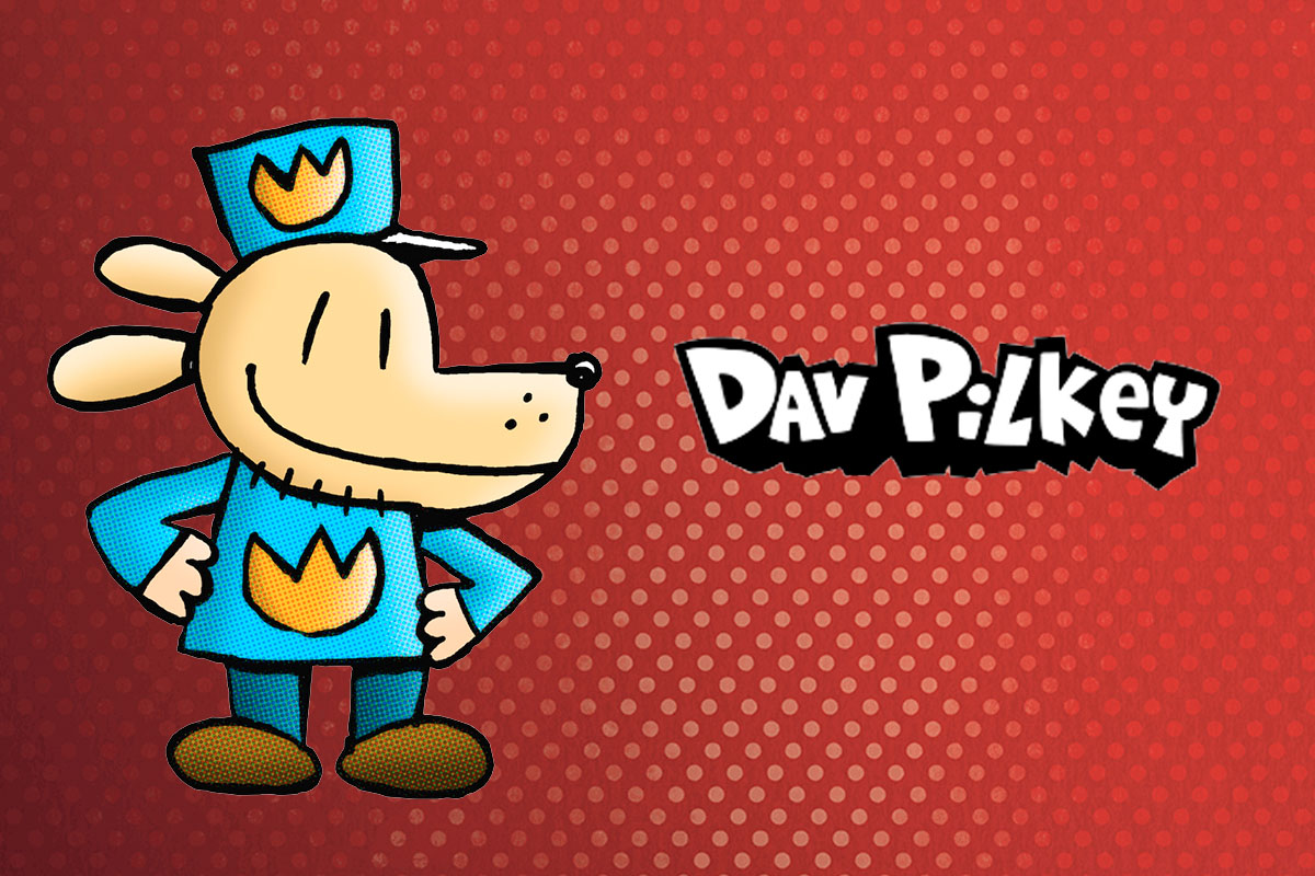 Dav Pilkey launches new website with Cyber-NY