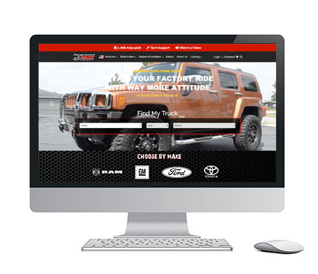 SuspensionMaxx Launches New Website Built on the LOGIC Business Cloud.