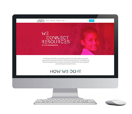 World Connect launches their new website on the Logic Business Cloud